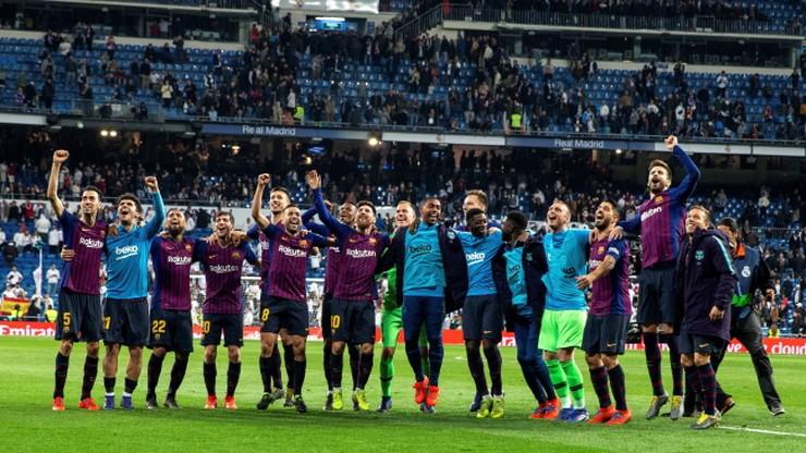 Hiszpańskie media: Barcelona okrzyknięta mistrzem po wygranej z Realem