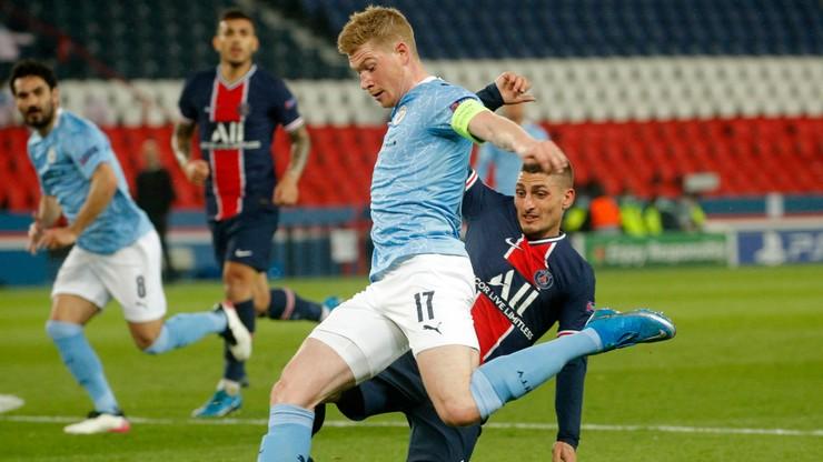 Liga Mistrzów: Pechowa porażka PSG. Manchester City coraz bliżej finału