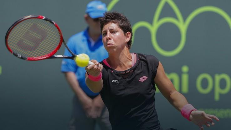 WTA w Dausze: Suarez Navarro czeka na Radwańską