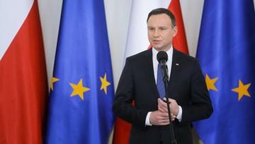 """Duda wysłał depeszę kondolencyjną. """"Nie ma zgody na akty terroru"""""""