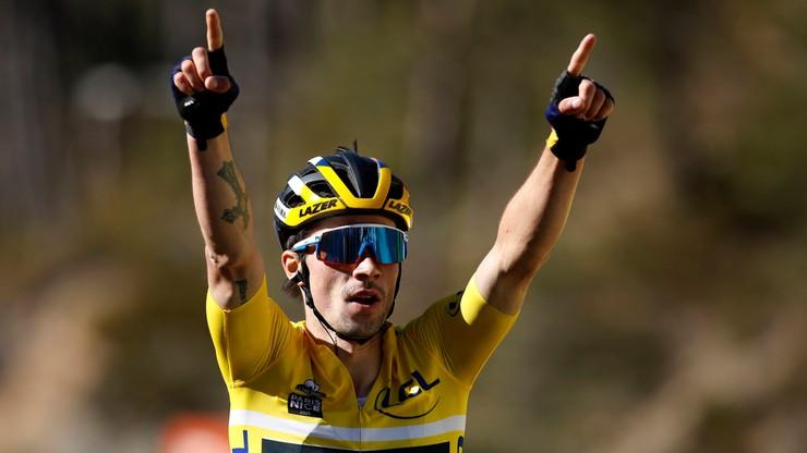 Paryż-Nicea: Roglic po raz trzeci wygrał etap i jest liderem