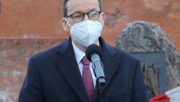 Premier zaszczepiony preparatem AstraZeneca