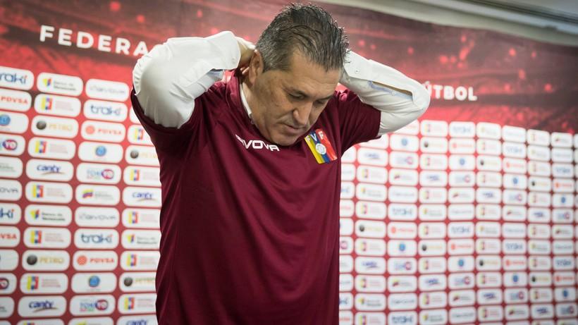 El. MŚ 2022: Trener piłkarskiej reprezentacji Wenezueli zrezygnował z funkcji