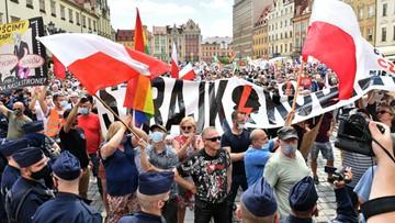Wiec prezydenta i zgromadzenie obywatelskie. Konfrontacja we Wrocławiu