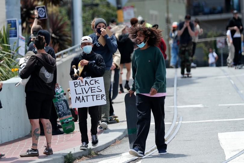 Protesty po śmierci George'a Floyda w Kalifornii