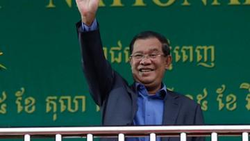 Nietypowy głos poparcia dla Trumpa. Wspiera go premier Kambodży