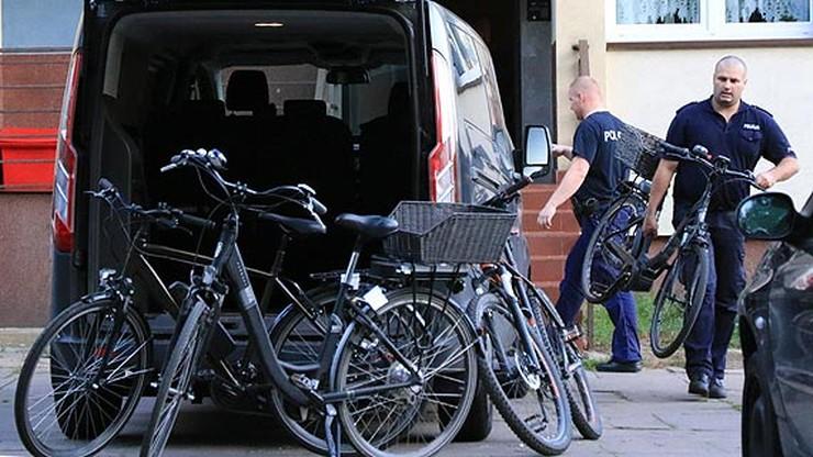 Miał w mieszkaniu 30 rowerów. Wszystkie kradzione