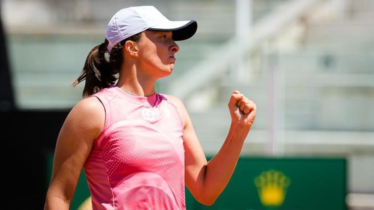 WTA w Rzymie. Iga Świątek awansowała do finału turnieju tenisowego