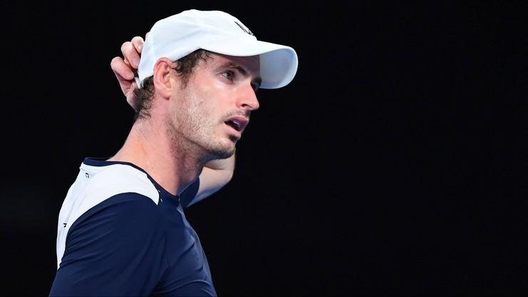 Australian Open bez Andy'ego Murraya. Wszystko przez kontuzję