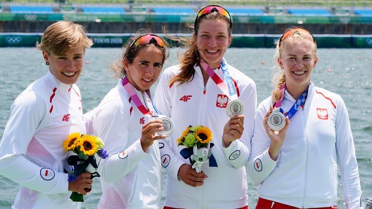 Igrzyska w Tokio. Polska ze srebrnym medalem w wioślarstwie kobiet