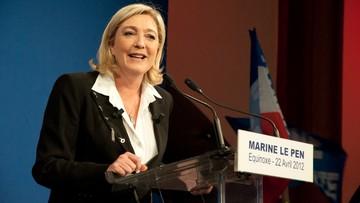 """""""Przywrócić Francji wolność i dać ludziom głos"""". Marine Le Pen przedstawiła program przed wyborami prezydenckimi"""