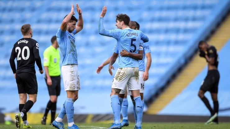 Premier League: Manchester City wygrał po raz czternasty z rzędu
