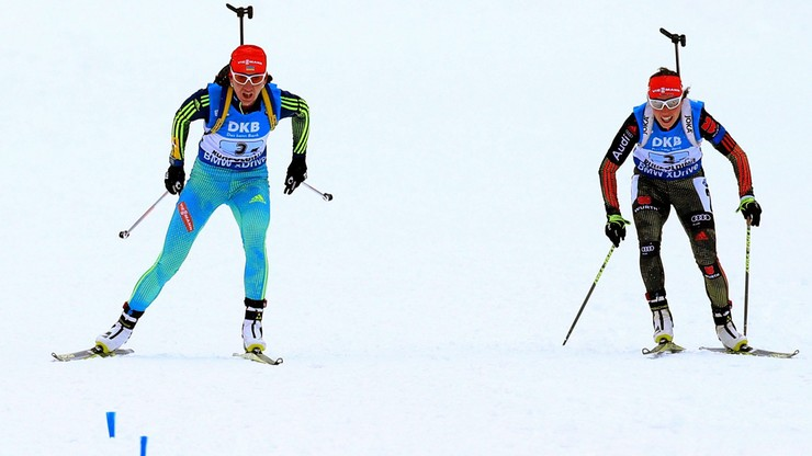 Ukrainki wygrały sztafetę w biathlonie, Polki - ósme