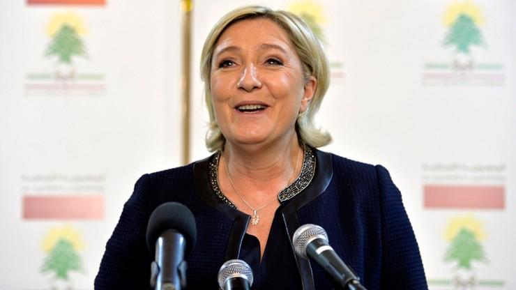Rosną szanse Marine Le Pen na przejście do drugiej tury