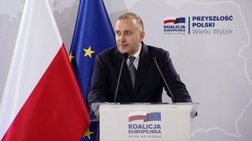 """""""Jak zarobić pierwszy milion? Zapisać się do PiS"""". Schetyna na konwencji Koalicji w Poznaniu"""
