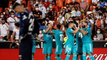 La Liga: Real Madryt wygrał mecz na szczycie w Walencji i jest liderem