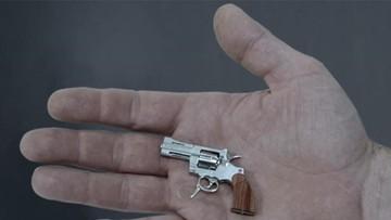 Swiss Mini Gun. Najmniejszy rewolwer na świecie