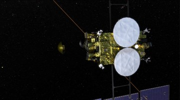 Kapsuła z próbkami asteroidy wylądowała na pustyni w Australii