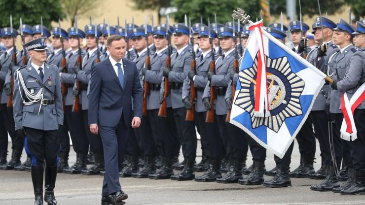 Prezydent wręczył nominacje generalskie dwóm oficerom policji