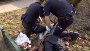 Groził nożem dziennikarzom przed prokuraturą w Szczecinie. Trafił na trzy miesiące do aresztu