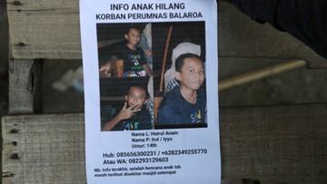Pięć tysięcy osób zaginionych po trzęsieniu ziemi w Indonezji