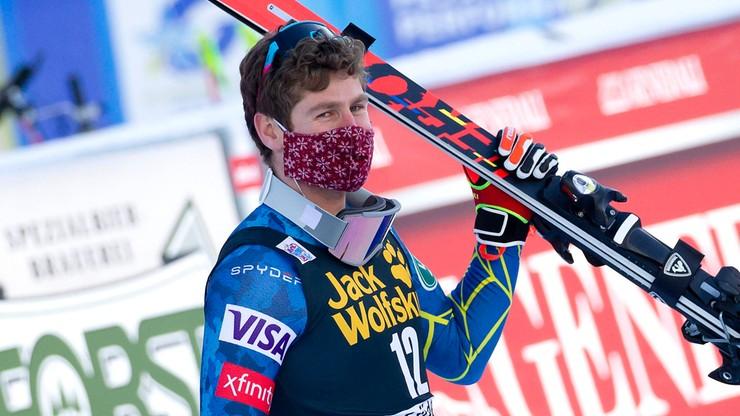 Alpejski PŚ: Cochran-Siegle wygrał supergigant w Bormio