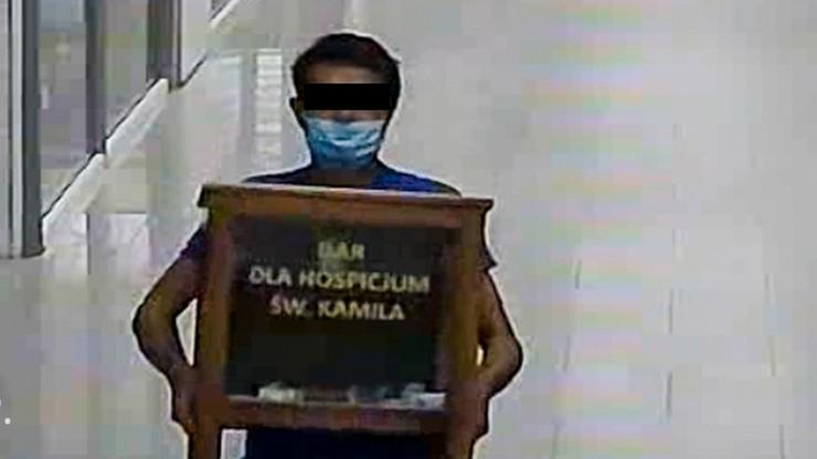 Ukradli pieniądze zbierane dla chorych z hospicjum