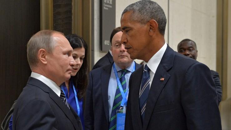 Spotkanie Obama-Putin na szczycie G20