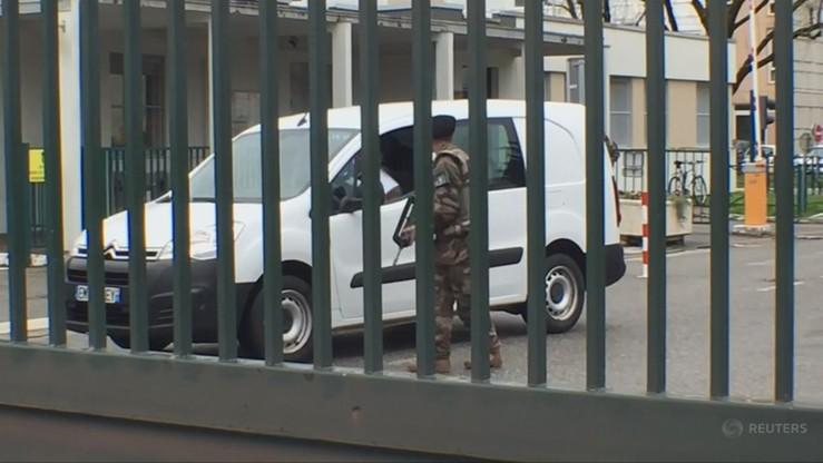 Zatrzymano mężczyznę, który próbował przejechać żołnierzy
