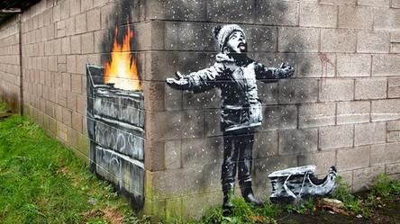 Banksy powraca i tym razem zwraca uwagę na wielki problem smogu w Europie