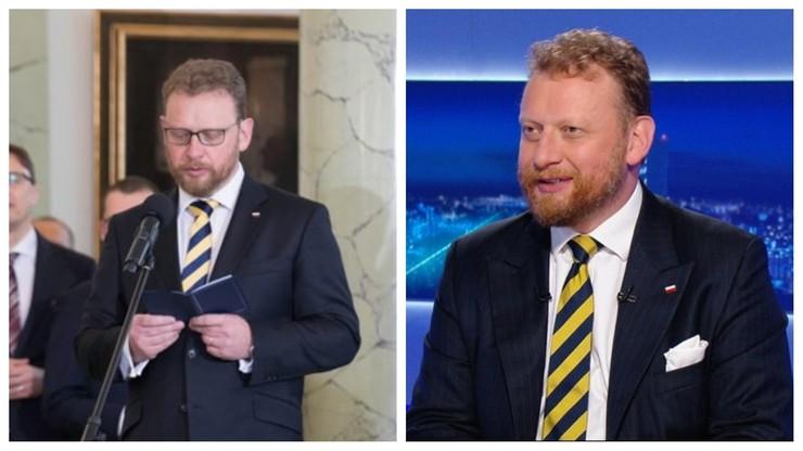 Słynny krawat Szumowskiego. Dziś nie mogło go zabraknąć
