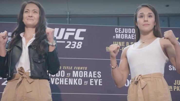 UFC 238: Kowalkiewicz błyszczała na face-to-face (WIDEO)