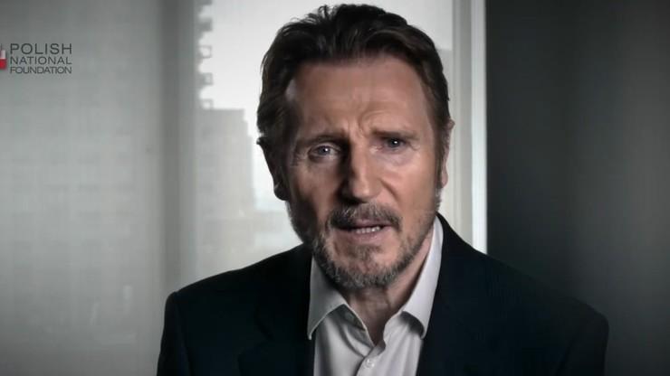 """Liam Neeson w spocie Polskiej Fundacji Narodowej. """"Cud nad Wisłą ocalił płomień wolności"""""""