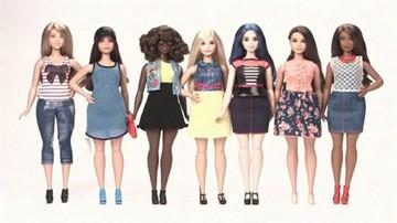Lalka Barbie w nowej odsłonie. Przytyła i zmalała