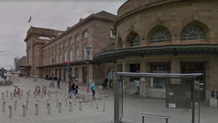 Atak nożownika na dworcu we wschodniej Francji. Trzy kobiety trafiły do szpitala