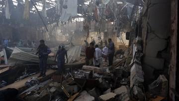 Już ponad 140 ofiar ataku na uczestników pogrzebu w Sanie