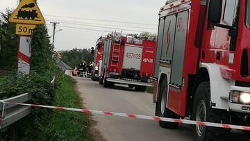 Tragiczny wypadek na przejeździe kolejowym na Podlasiu. Zginęły dwie osoby