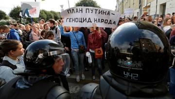 Rosja: ponad 800 osób zatrzymanych podczas demonstracji zwołanych przez Nawalnego