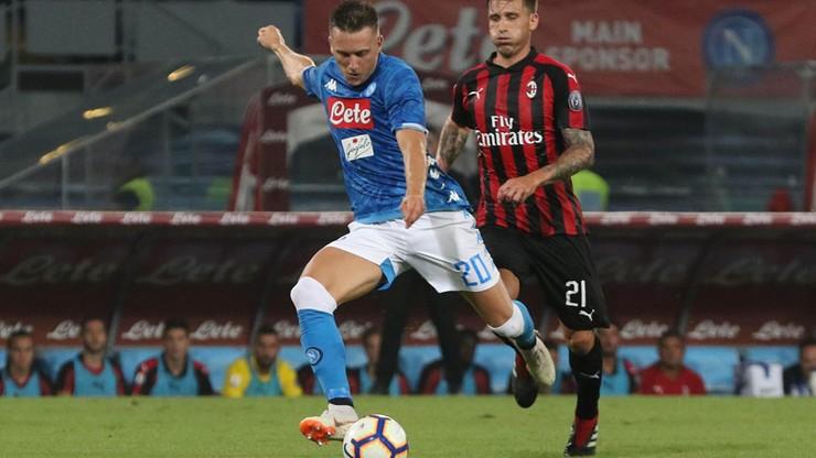 Zieliński uwielbia AC Milan! Dwa gola Polaka pomogły Napoli