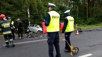 Tragiczny wypadek w Wielkopolsce. Nie żyją 4 osoby