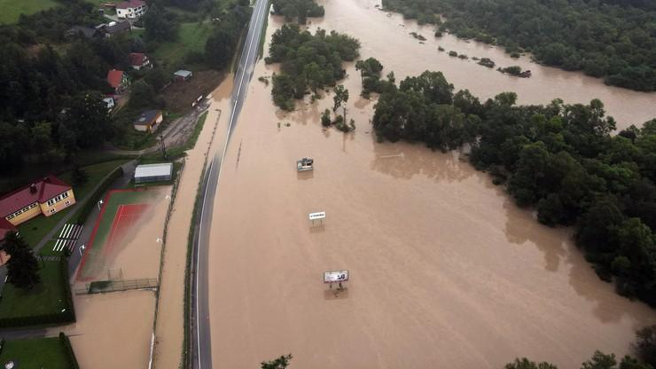 Małopolskie. Wojewoda zwołał sztab kryzysowy. Alarm powodziowy w trzech gminach