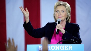 Clinton atakuje Trumpa za komplementy pod adresem Putina