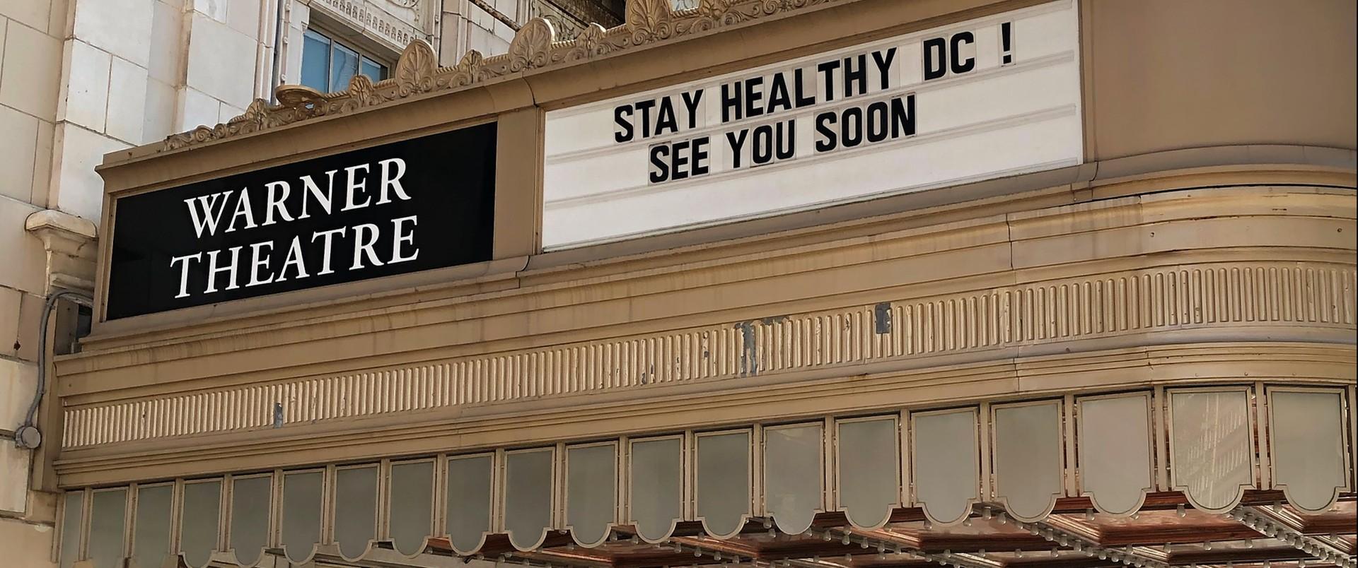 Zamknięty teatr w Waszyngtonie