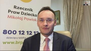 Rzecznik praw dziecka zakażony koronawirusem