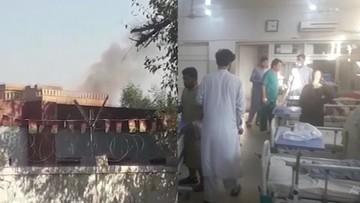 20 zabitych i niemal 100 rannych w zamachu w Afganistanie. W eksplozji ucierpiał szpital
