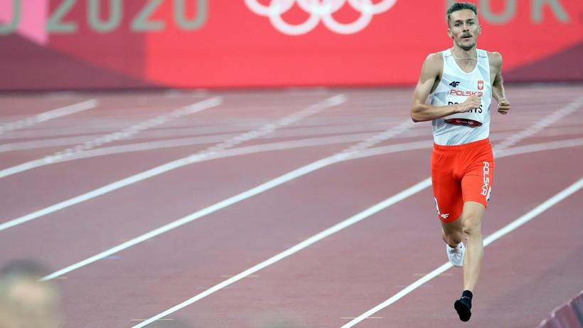 Tokio 2020: Szczęście w nieszczęściu Michała Rozmysa! W trakcie biegu zgubił but, ale awansował do finału
