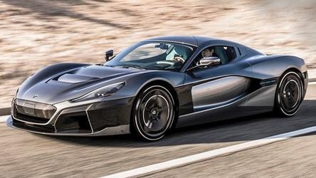 Elektryczny Rimac miażdży rekordy prędkości uzyskane przez Bugatti Chiron [WIDEO]
