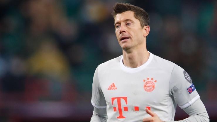 Liga Mistrzów: Bayern znów bez Roberta Lewandowskiego