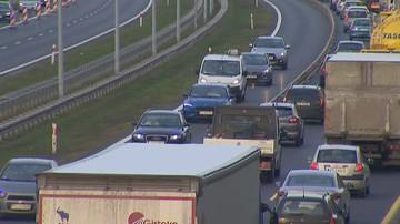 Śmiertelny wypadek na A2. Trasa zablokowana w stronę Warszawy