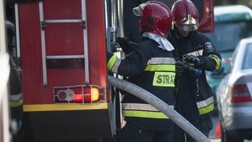 Pożar na warszawskiej Pradze. Nie żyje starsze małżeństwo
